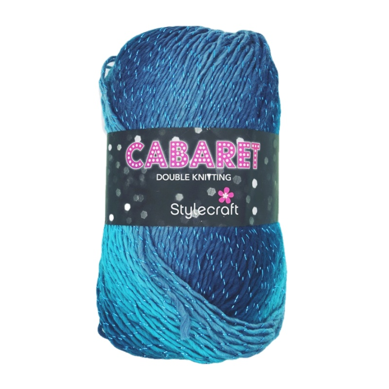 Cabaret DK 100g variegated yarn | The Cheap Shop Tiptree
