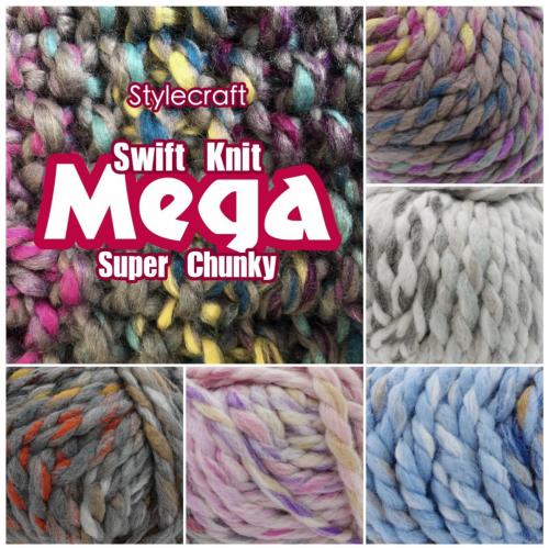 Swift Knit Mega Super Chunky 200g | The Cheap Shop Tiptree