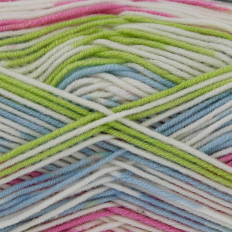 100g King Cole CherishDK Knitting Yarn Shade Neopolitan